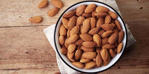 Almonds #healthy living #belly fat #foods #trendypins