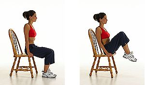 Captain's Chair #healthy living #eelly Fat #exercises #trendypins