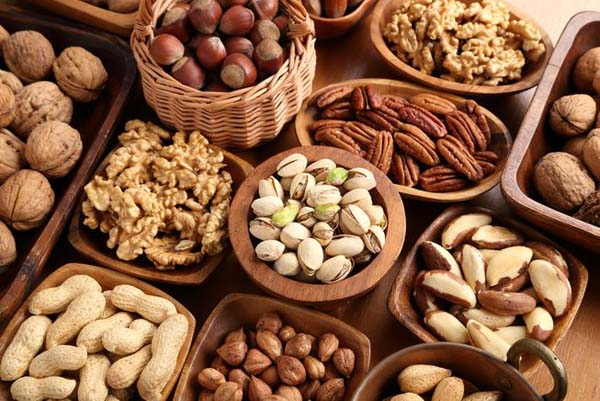 Nuts #healthy living #belly fat #foods #trendypins