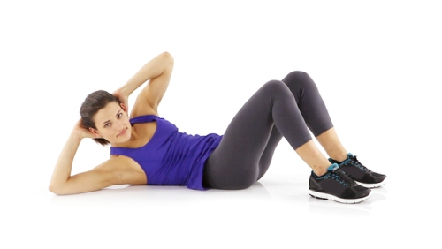 Twist crunches #exercises #Healthy living #Belly Fat #exercises #trendypins