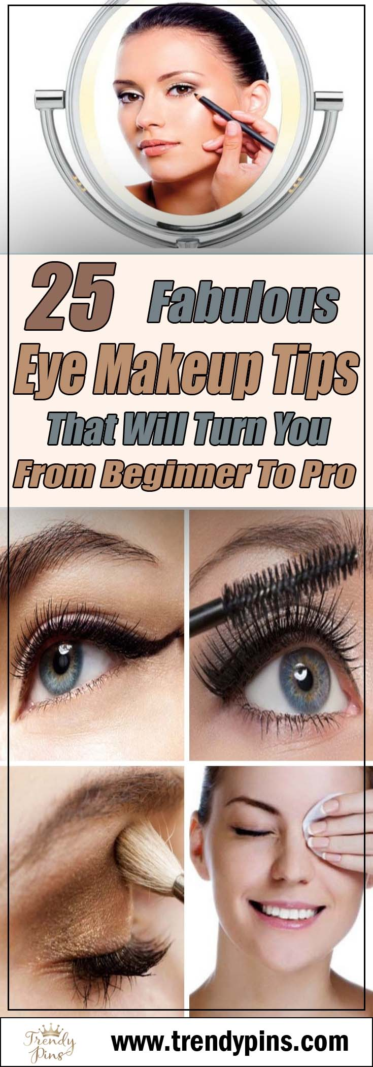 25 fabulous eye makeup tips that will turn you from beginner to pro #makeup #beauty #trendypins