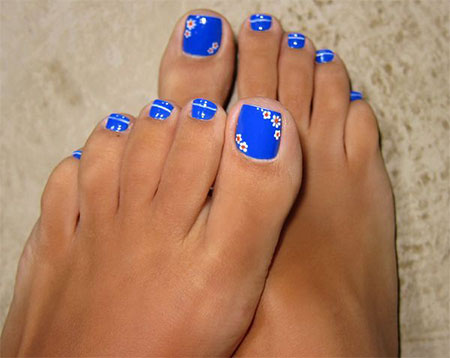 Just a Sticker On Toes #toe nail art #nails #beauty #trendypins