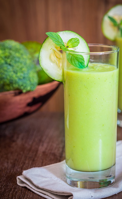 Cucumber, Plum, And Cumin Smoothie #smoothies #healthy living #healthy smoothies #trendypins