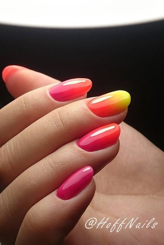 Ombre Nail Design #nails #beauty #trendypins