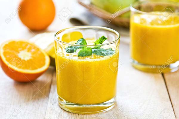Orange, Lemon And Flax Seeds Smoothie #smoothies #healthy living #healthy smoothies #trendypins