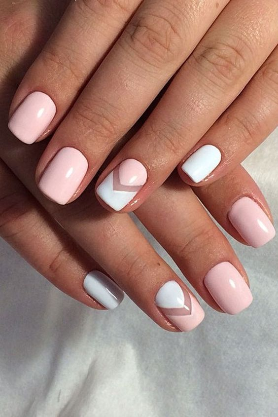 Romantic Negative Space #nails #beauty #trendypins