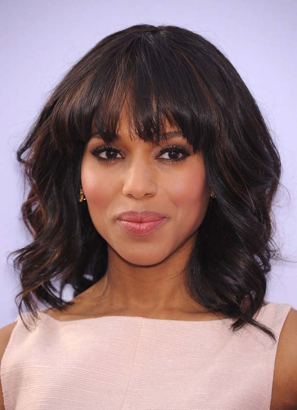 Long Bob With Wispy Bangs #hair #beauty #trendypins