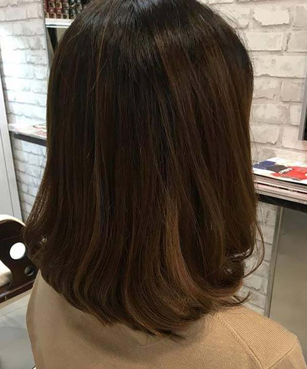 Rounded Edges Long Bob #hair #beauty #trendypins
