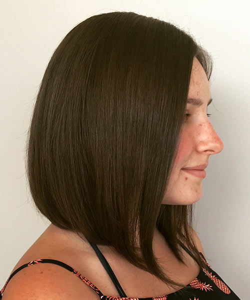 Subtly Angled Long Bob #hair #beauty #trendypins