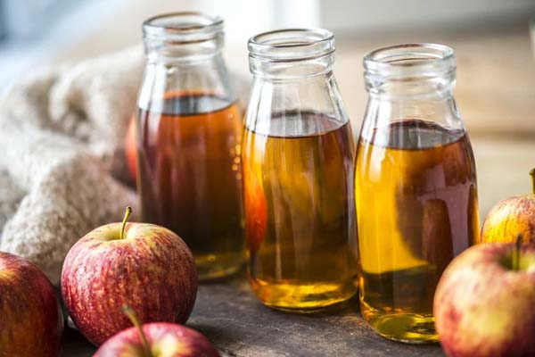 Apple Cider Vinegar To Get Rid Of Dark Circles Under Eyes #dark circles under eyes #beauty #trendypins