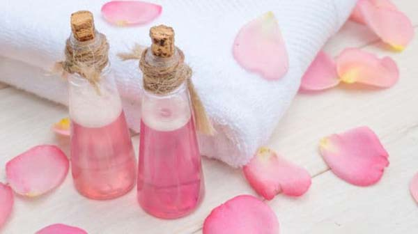 Rose Water (Gulab Jal) To Get Rid Of Dark Circles Under Eyes #dark circles under eyes #beauty #trendypins