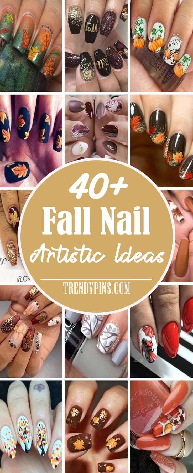 Ahead, the 40+ best manicure ideas for the fall this year runways to inspire your next nail appointment #nails #fall nails #beauty #trendypins