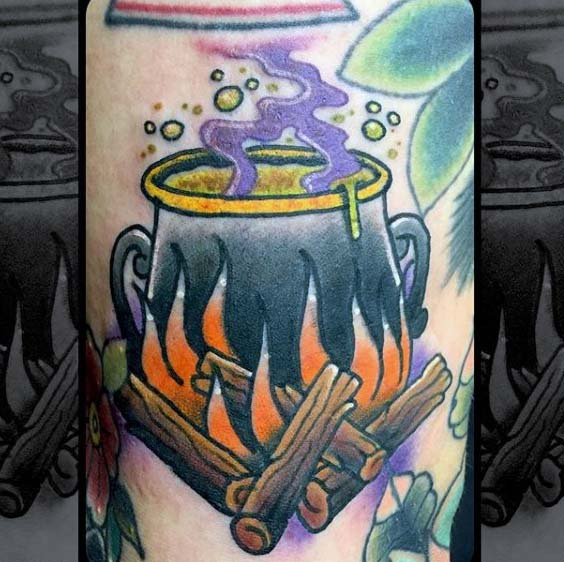 A Witch Caldron