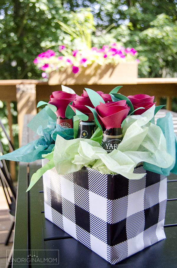 Beer Bouquet #DIY #Christmas #gifts #trendypins
