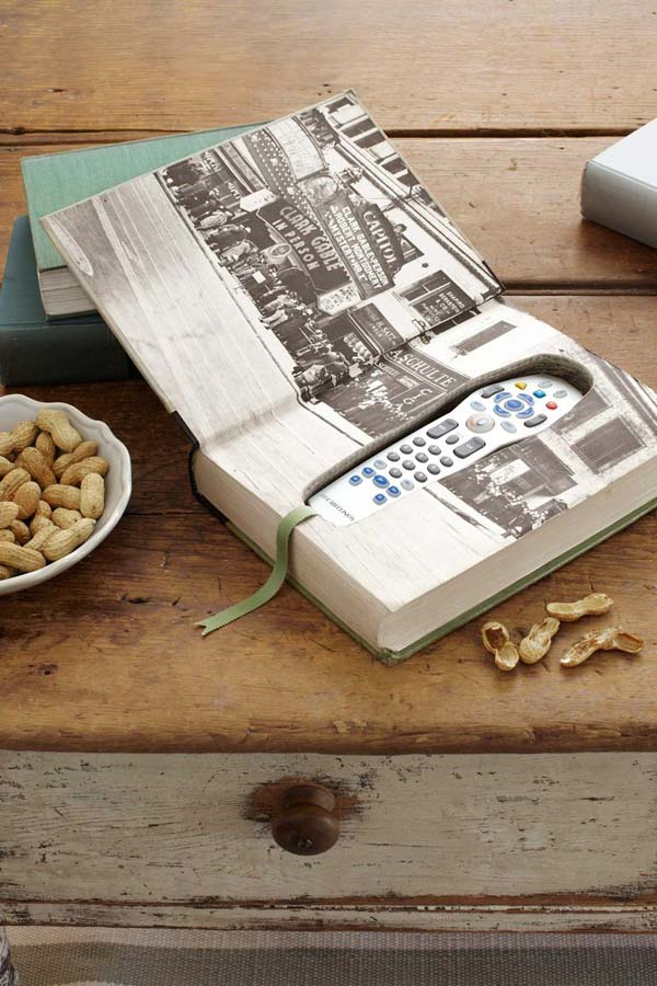 Book Box for Remote #DIY #Christmas #gifts #trendypins
