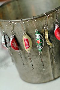 Bottle Cap Fishing Lures