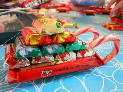 Candy Sleighs #DIY #Christmas #gifts #trendypins
