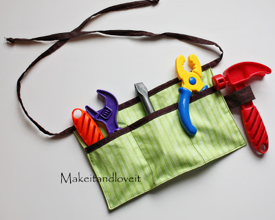 Tool Belt for Kids #DIY #Christmas #gifts #trendypins