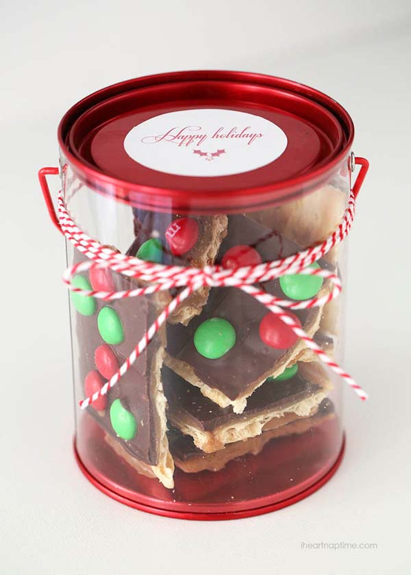 Christmas Crack Toffee #DIY #Christmas #gifts #trendypins