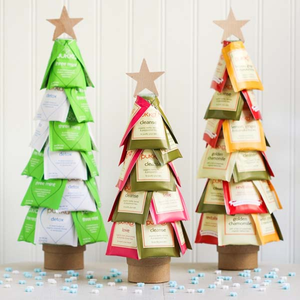 Christmas Tea Trees #DIY #Christmas #gifts #trendypins