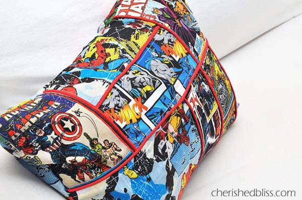 Comic Book Style Superhero #DIY #Christmas #gifts #trendypins