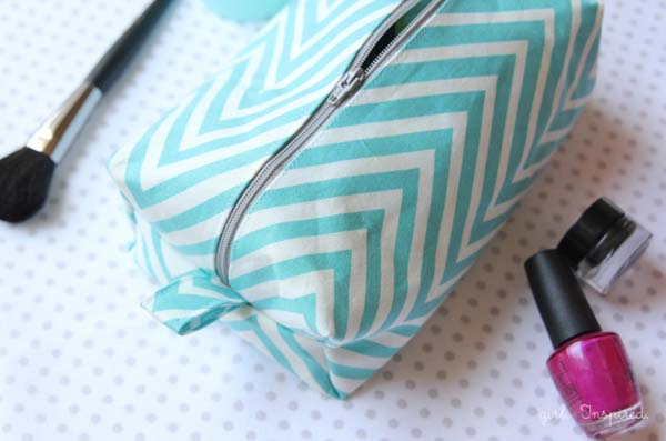 Cosmetic Bag #DIY #Christmas #gifts #trendypins