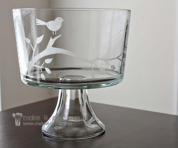 DIY Glass Etching #DIY #Christmas #gifts #trendypins