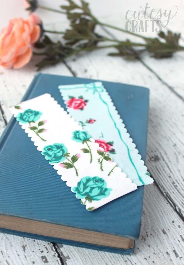 DIY Handmade Bookmarks #DIY #Christmas #gifts #trendypins