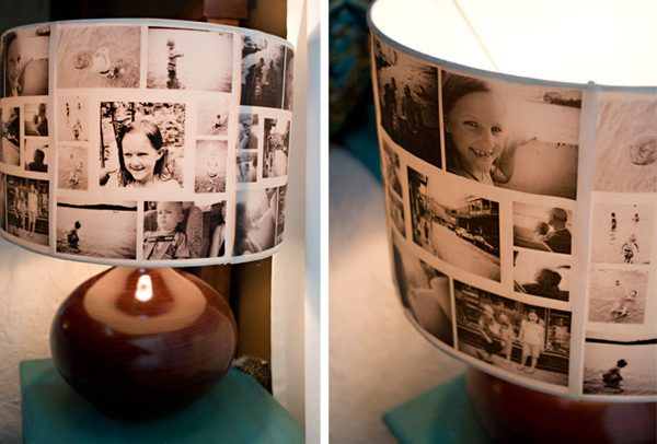 DIY Photo Lampshades #DIY #Christmas #gifts #trendypins