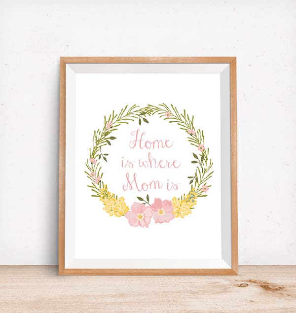 DIY Printable Wall Art #DIY #Christmas #gifts #trendypins