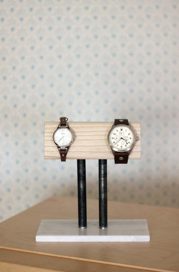 DIY Watch Stand #DIY #Christmas #gifts #trendypins