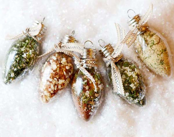 Dip Mix Ornaments #DIY #Christmas #gifts #trendypins