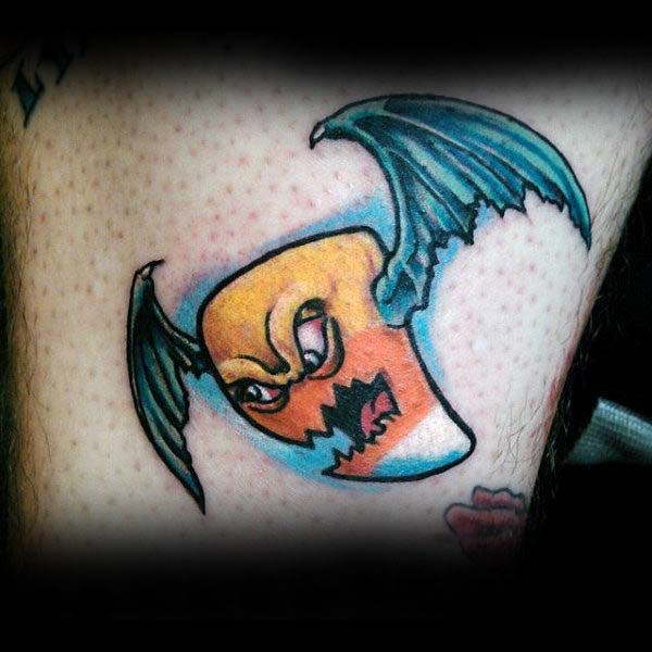 If Only Candy Corn Had Wings #Halloween #tattoos #trendypins