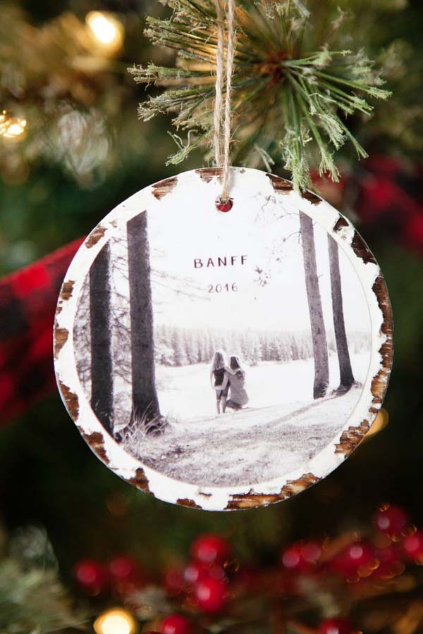 Photo Keepsake Ornaments #DIY #Christmas #gifts #trendypins