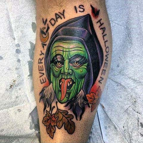 Shouldn't Every Day Be Halloween? #Halloween #tattoos #trendypins