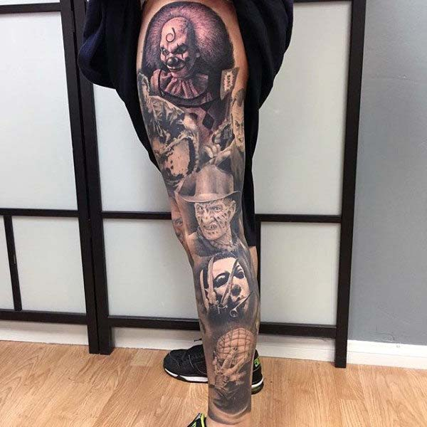 The Masters of Horror #Halloween #tattoos #trendypins
