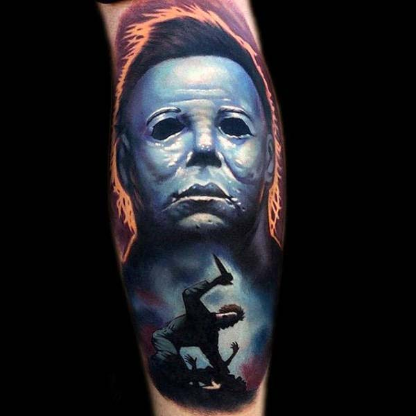 There is no Movie Villain More Iconic Than Michael Myers #Halloween #tattoos #trendypins