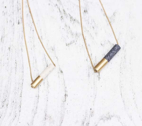 Tube Bead Necklace #DIY #Christmas #gifts #trendypins
