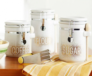 DIY Dot Art Canisters