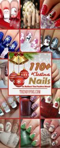 110 Christmas Nails To Reflect The Festive Mood