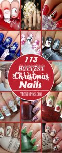 113 Hottest Christmas Nails to Reflect the Festive Mood-1