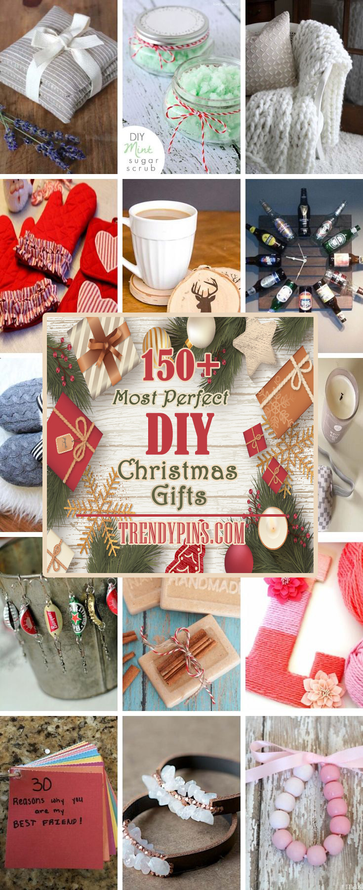 I don't know why you might want to make DIY Christmas gifts but I know that giving DIY gifts for Christmas can give you more options than just going to the store #DIY #Christmas #gifts #trendypins