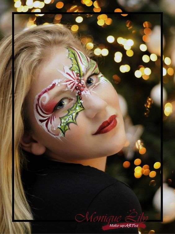 Christmas-Makeup-Art