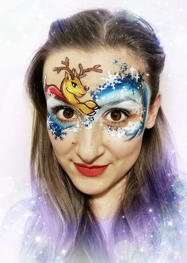 Reindeer-and-Snowflakes-Christmas-Face-Painting-1