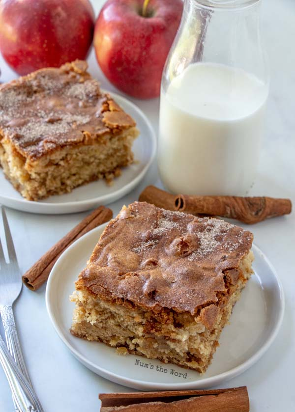 Apple Blondies #Christmas #cookie #recipes #trendypins
