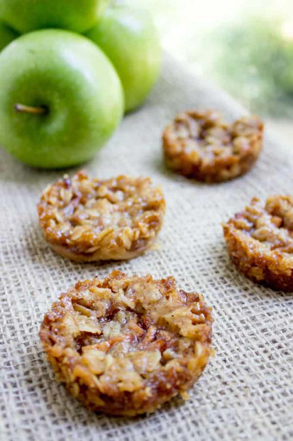Apple Crisp Cookies #Christmas #cookie #recipes #trendypins