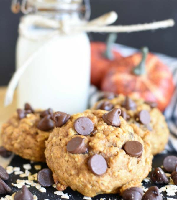 Oatmeal Pumpkin Cookies #Christmas #cookie #recipes #trendypins