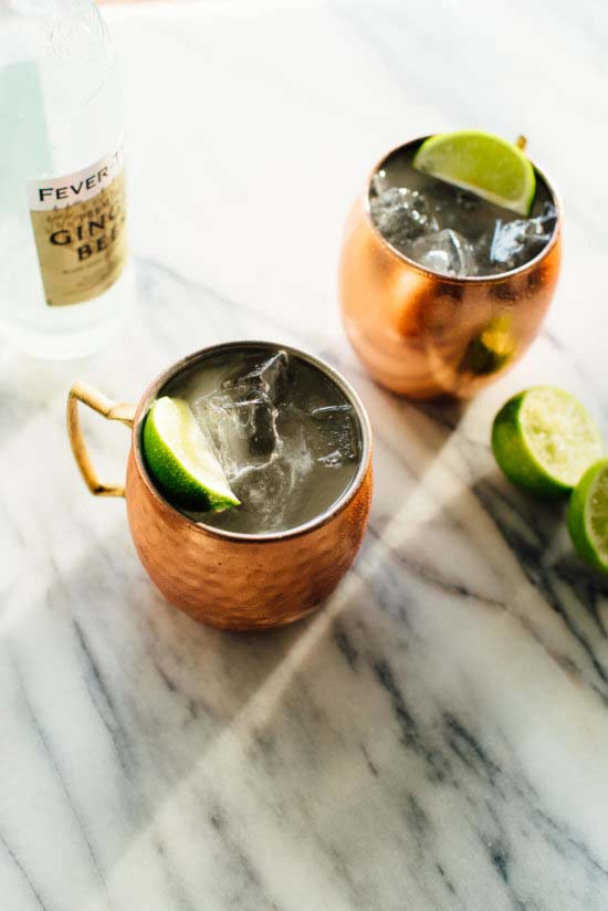 Classic Moscow Mule #Christmas #recipes #dinner #trendypins