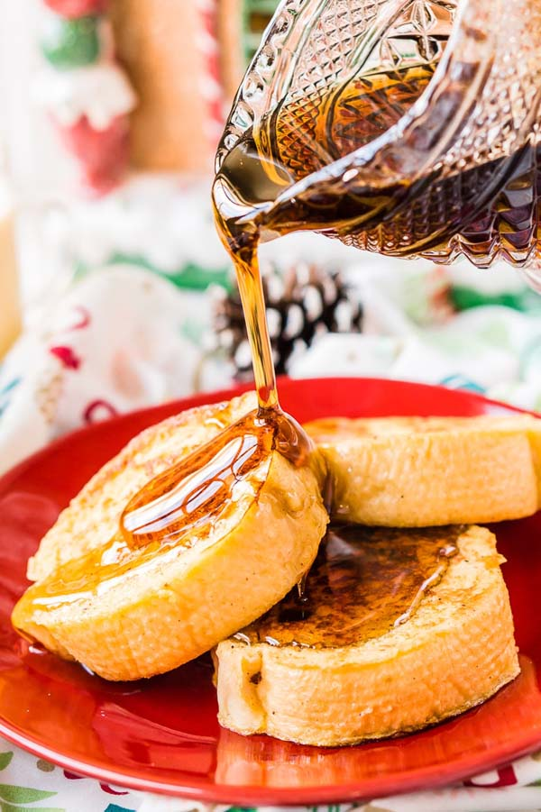 Eggnog French Toast #Christmas #recipes #dinner #trendypins