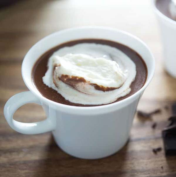 Hot Chocolate from Scratch #Christmas #recipes #dinner #trendypins
